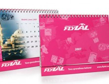 Lithuanian Airlines FlyLAL / 2007 Calendar