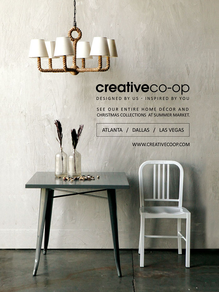 Creative co op inc 2014 advertising for Home decor of 9671 inc