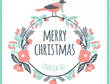 Studija 365 / Fitness & Yoga Studio Christmas Card