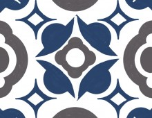 Creative Co-op, Inc. © / Morocco style stamp Pattern