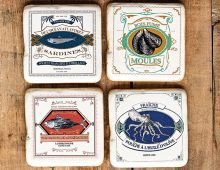 Creative Co-op, Inc. © / Vintage fish labels