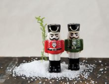 Creative Co-op, Inc. © / Ceramic Nutcracker Salt & Pepper Shakers