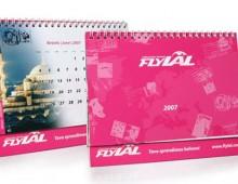 Lithuanian Airlines FlyLAL / 2007 Calendar