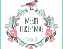 Studija 365 / Fitness & Yoga Studio Christmas Card