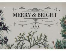 Creative Co-op, Inc. © / Botanical Holiday artwork